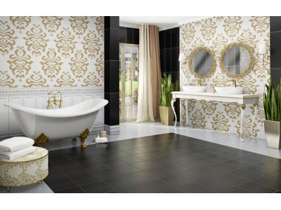 Коллекция Infinity Ceramic Mosaico Damasco Oro-Bianco