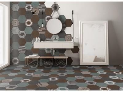 Коллекция ITT Ceramic  Pier17 Hexa
