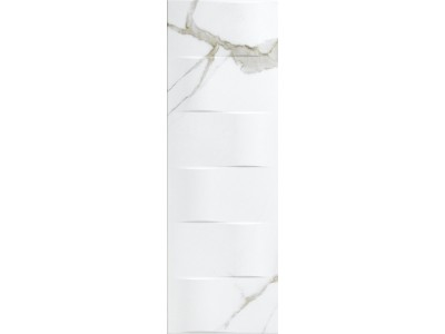 Excelsior Ondas Decor Blanco 30x90