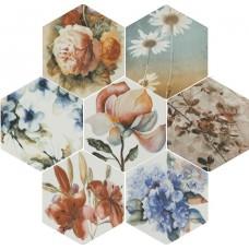 Керамогранит TOSCANA Flores Acuarelas mix 25,8x29*