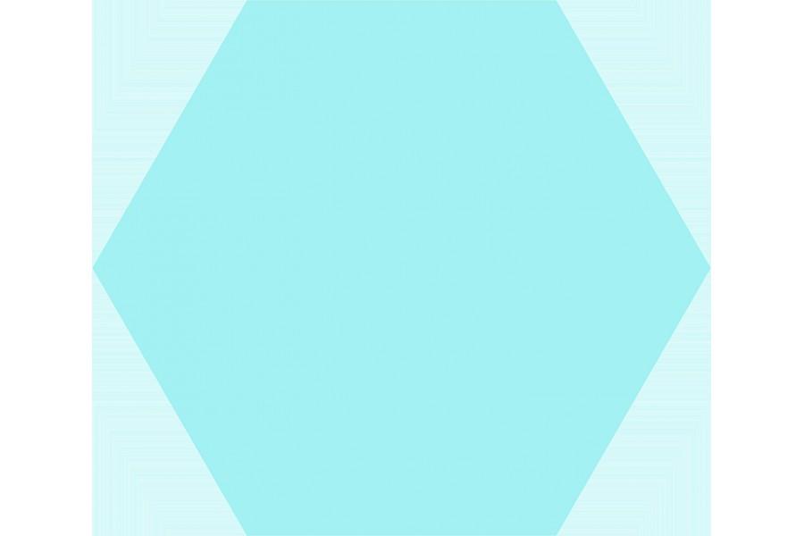 Купить Basic Hex.25 Aqua 25X22