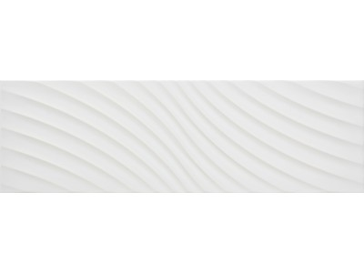 Icon Glossy Waves White 25,2x80
