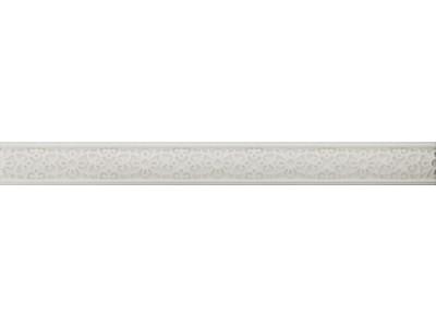 Бордюр ALCHEMY White Listelo 4x39,8 (под заказ)