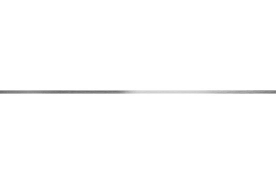 Купить Бордюр Atelier Perfil Inox Silver Rect 1,5X119,8 (Под Заказ)