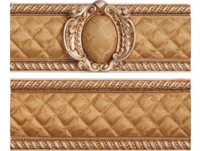 Cenefa Stariy Arbat Mix Gold 10x25
