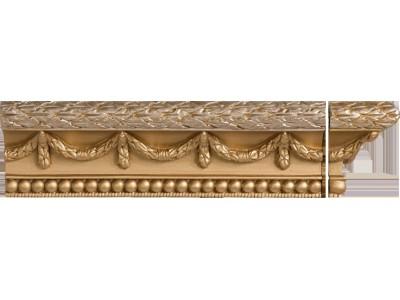 Cornisa Stariy Arbat Gold 7,5 x 25