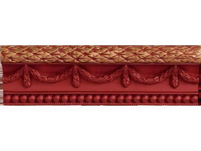 Cornisa Stariy Arbat Red 7,5 x 25