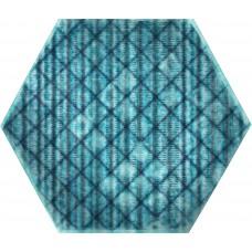 Керамогранит TRIBU Blue Shiny Hexa 23,2x26,7 *