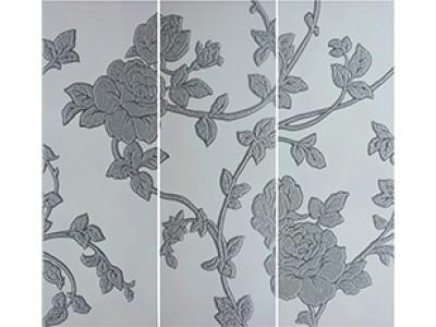 Flores Conjunto 3 Gris 3 x 25 x 70