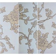 Flores Conjunto 3 Beige 3 x 25 x 70