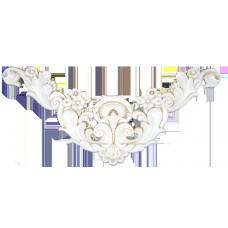 Vaticano Decor Boiserie Oro 36 x 80