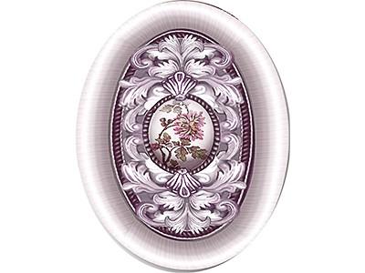 Felicita Barocco Rosa Inserto 10 x 14