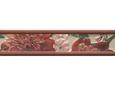 бордюр BELLINI JADOR RED Cenefa 5.5x25