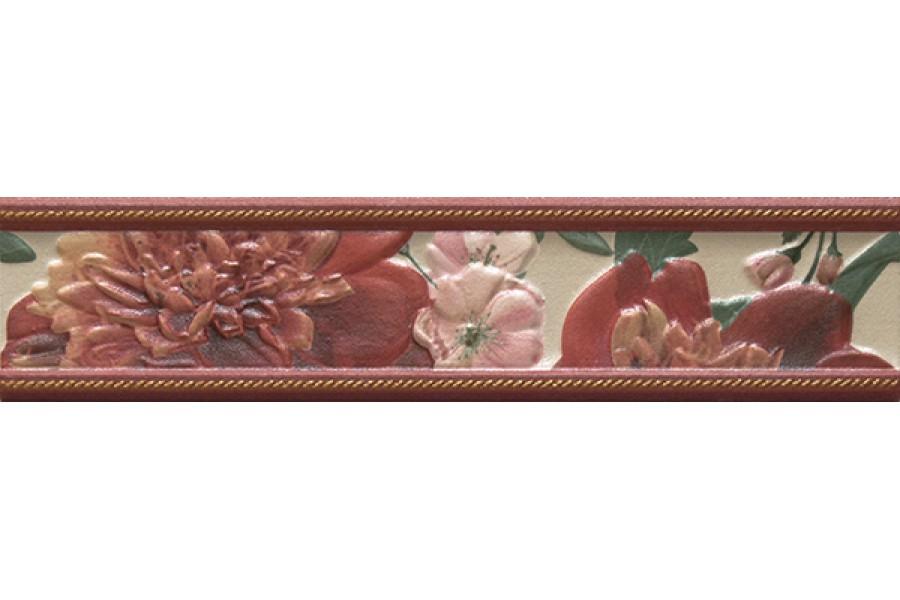 Купить Бордюр Bellini Jador Red Cenefa 5.5X25