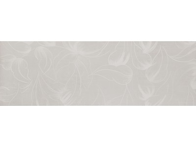 City Flor Blanco Decor 25x75