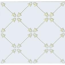 Paisley Blanco Net Decor 20 x 20