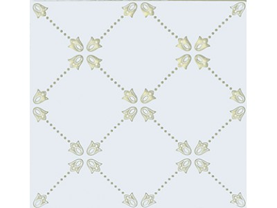 Paisley Blanco Net Decor 20 x 20