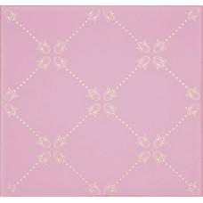 Paisley Rosa Palo Net Decor 20 x 20