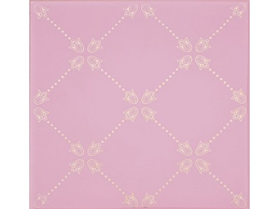 Paisley Rosa Palo Net Decor 20 x 20