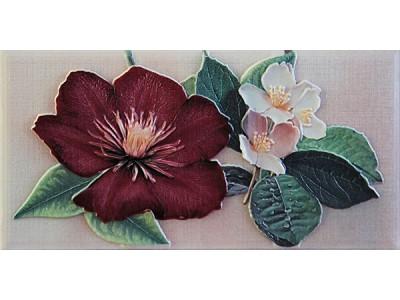 Violetta Burdeos Cenefa-3  10 x 20