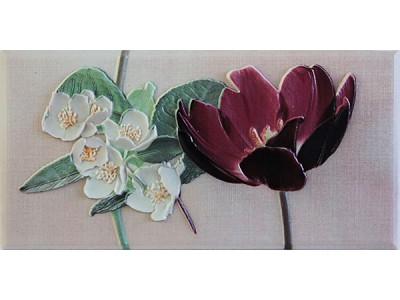 Violetta Burdeos Cenefa-2  10 x 20