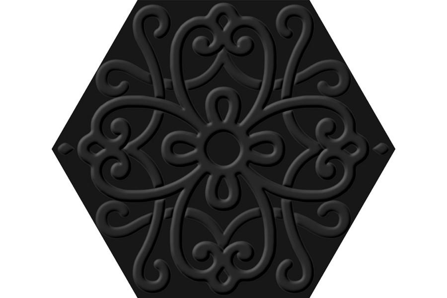 Купить Flora Hexa Black 23,2X26,7