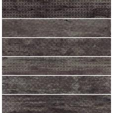 Rivamancina Decor Carbone Mix 20x120