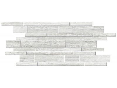 Italian Icon Vein Cut White Muretto Mosaico 30x60 Nat  (под заказ)