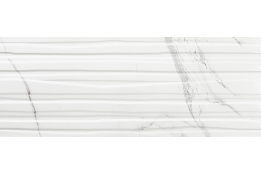 Купить Calacatta Branches White Mate Slimrect 24,2X64,2