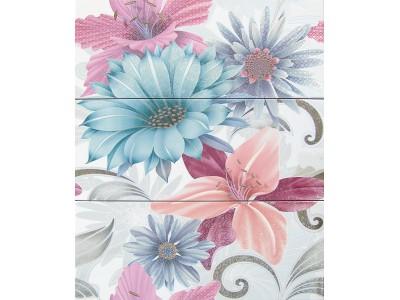 Декор SOUL FLOWER DECOR AZUL 20x50x3