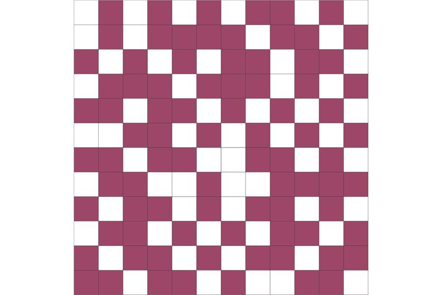 Купить Мозаика Shine Mosaico White-Lila 30X30