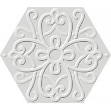 Flora Hexa White 23,2x26,7