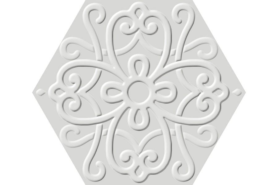 Купить Flora Hexa White 23,2X26,7