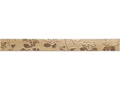 Бордюр EUGENE EPIC BEIGE  Cen.5x50 (с цветами)