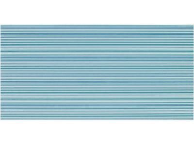 Декор EUGENE LINE CIAN  DECOR 25x50 (голубые полоски)