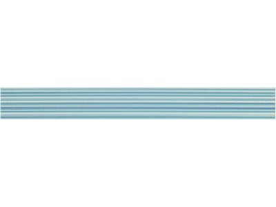 Бордюр EUGENE LINE CIAN Cen. 6x50 (голуб. в полоску)