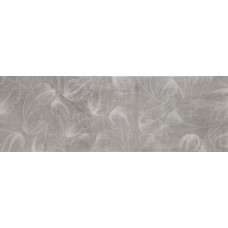 City Flor Grafito Decor 25x75