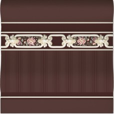 Arcobaleno Brown Zocalo 20 x 20