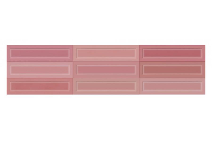 Купить Настенная Плитка Osaka Rose Shiny 7,5X30 (Под Заказ)