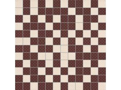 Arcobaleno Shine Mosaico Beige-Brown 30 x 30