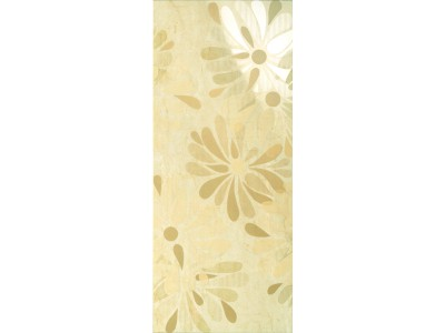 Декор  LUXURY FLOWERS BEIGE DECOR 30.5x72.5