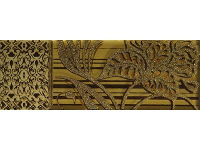 Вставка Сиена Актуэль Золотая 12,8х4,5