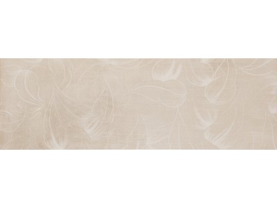 City Flor Crema Decor 25x75