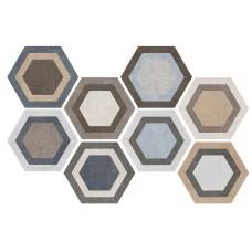 Tripoli Hexa 23,2x26,7