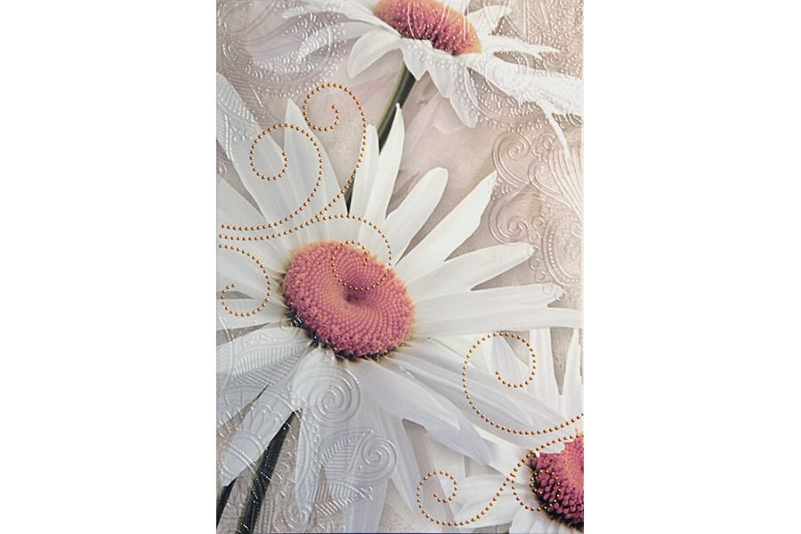 Купить Декор Iris Silver Decor 62X45 (31Х45X2)