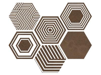 Pier17 Hexa Copper 23,2x26,7