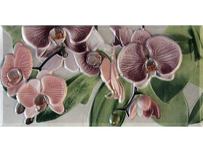 Orquideas Rosa Cenefa-3 10 x 20