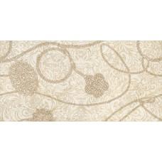 Декор Крема Аллюре-1 Марфиль 25х50