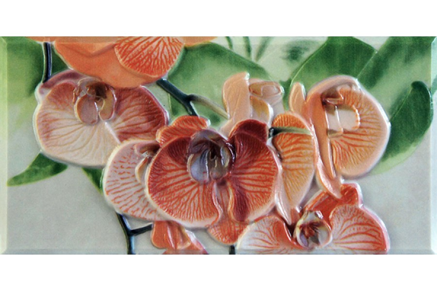 Купить Orquideas Naranja Cenefa-1  10 X 20