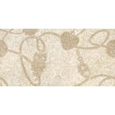 Декор Крема Аллюре-2 Марфиль 25х50